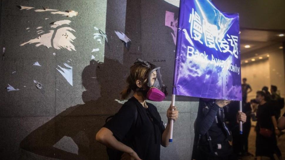 """Foto: El Gobierno de Trump expresó una """"profunda preocupación"""" por la supuesta presencia de movimientos paramilitares chinos a lo largo de la frontera de Hong Kong, 18 de agosto de 2019 (EFE)"""