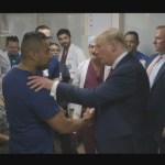 Foto: Trump Visita Dayton El Paso Protestas Tiroteo 7 Agosto 2019