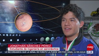 Foto: Joven Mexicano Triunfa Nasa 9 Agosto 2019