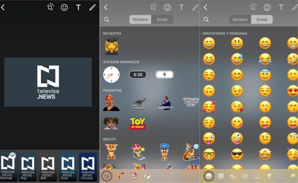 capturas de pantalla de whatsapp