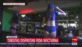 FOTO: Vida nocturna, otro de los atractivos de Acapulco, 17 Agosto 2019