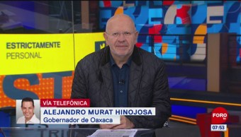 Video: Entrevista completa con el gobernador Alejandro Murat en 'Estrictamente Personal'