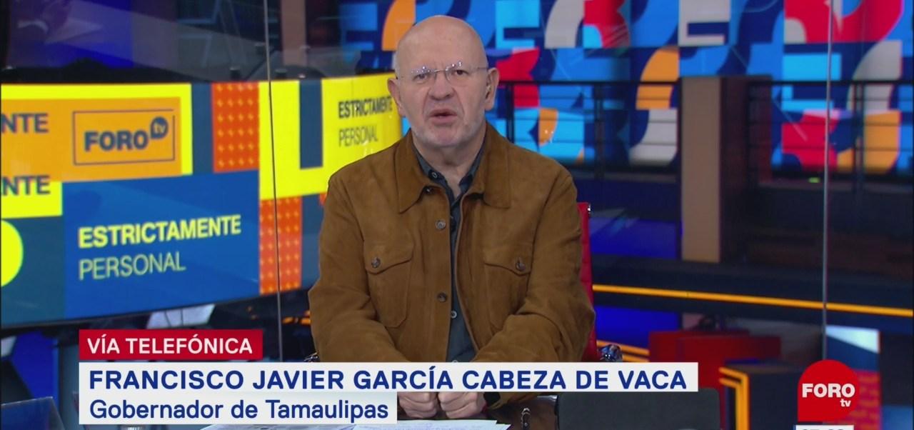 Video: Entrevista completa con gobernador Francisco Javier García Cabeza de Vaca con Riva Palacio en Estrictamente Personal