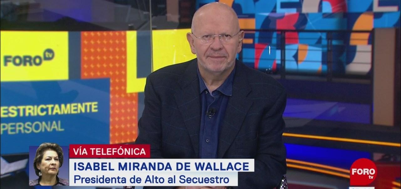Video: Entrevista completa con Isabel Miranda de Wallace en 'Estrictamente Personal'