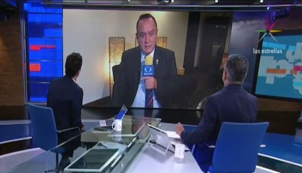 Foto Video: Entrevista completa de Alejandro Giammattei 13 agosto 2019