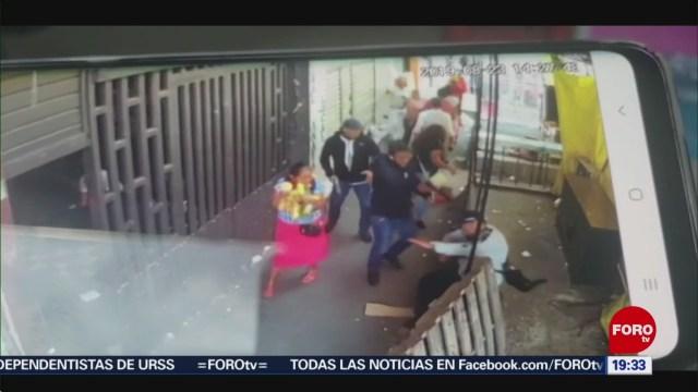 Foto: Video Momento Asesinato Comerciante Merced 23 Agosto 2019