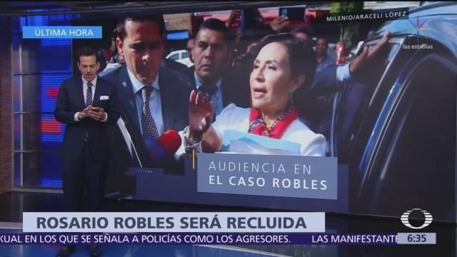 Vinculan a proceso a Rosario Robles por ejercicio indebido del servicio público