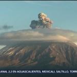 Foto: Volcán Popocatépetl Lanza Fumarola Hoy 8 Agosto 2019