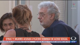 11 mujeres acusan a Placido Domingo