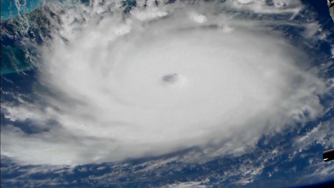 Foto: El huracán Dorian visto desde la Estación Espacial Internacional, 1 de septiembre de 2019 (Reuters)