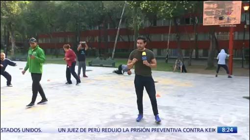 Activación física en Tlatelolco