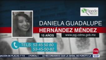 Activan Alerta Amber por Daniela Guadalupe Hernández Méndez