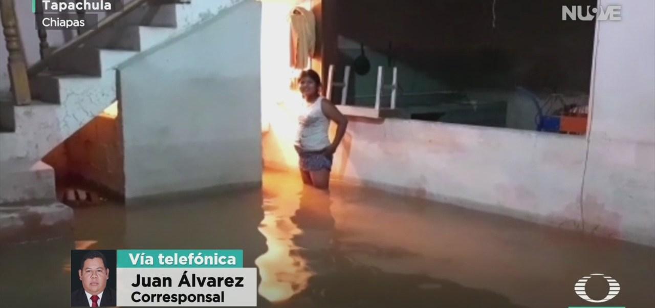FOTO: Afectaciones Por Lluvias Chiapas