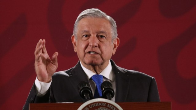 Foto: Andrés Manuel López Obrador, presidente de México, durante la conferencia matutina este lunes 30 de septiembre de 2019 (Galo Cañas /Cuartoscuro.com)