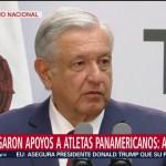 FOTO: AMLO rinde informe sobre el apoyo a deportistas mexicanos, 1 septiembre 2019