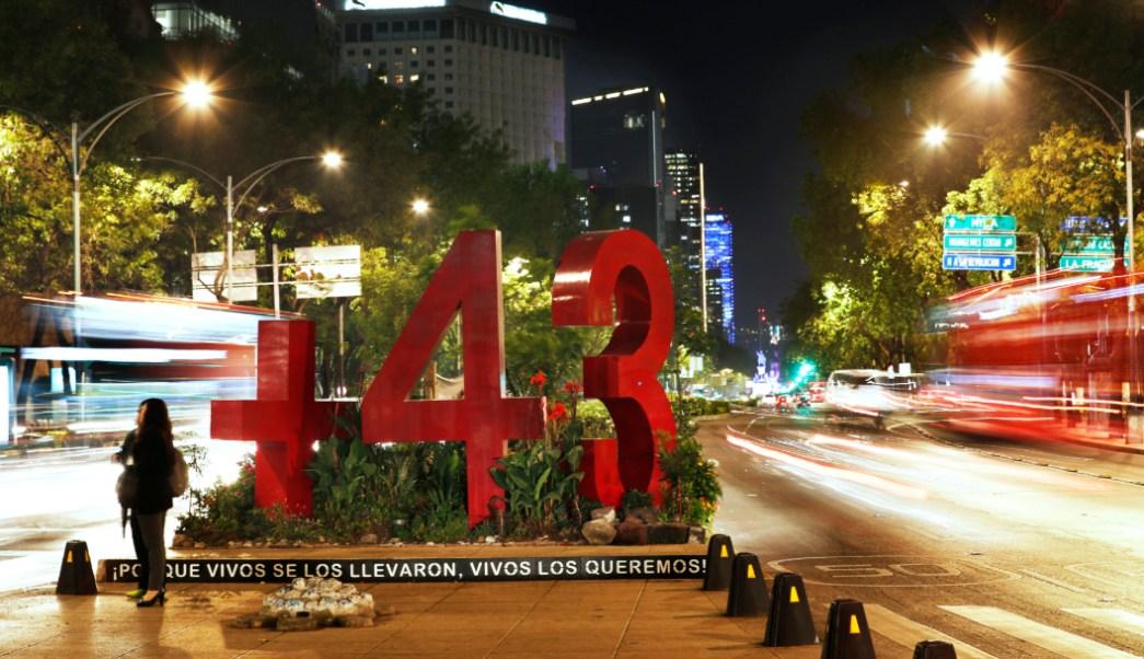 Foto: El monumento contra la impunidad en Reforma, 14 de septiembre de 2019 (AP, archivo)