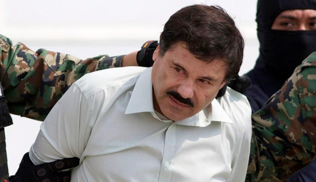 Foto: 'El Chapo' en su captura en 2014, 11 de septiembre de 2019 (AP, archivo)