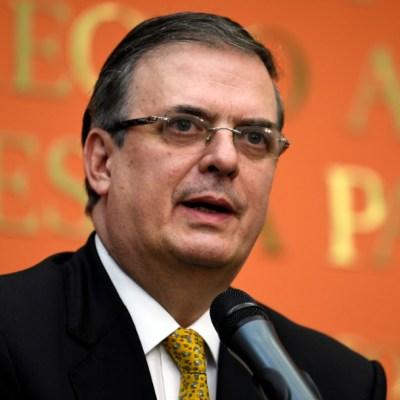 Muere el padre de Marcelo Ebrard, secretario de Relaciones Exteriores