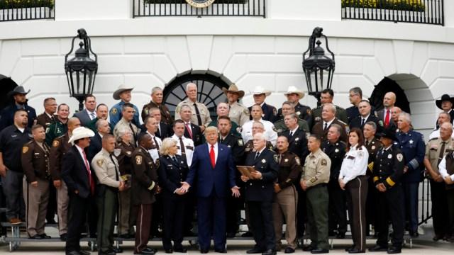 Foto: Donald Trump este jueves en la Casa Blanca, 26 de septiembre de 2019 (AP)