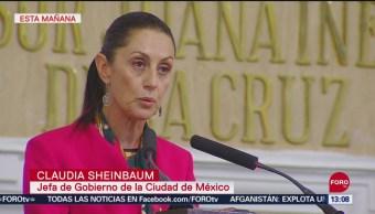 FOTO: Asegura Sheinbaum Que Han Disminuido Homicidios Dolosos CDMX