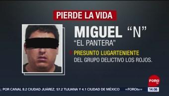 FOTO: Asesinan a 'El Pantera', líder de 'Los Rojos', en Morelos, 7 septiembre 2019