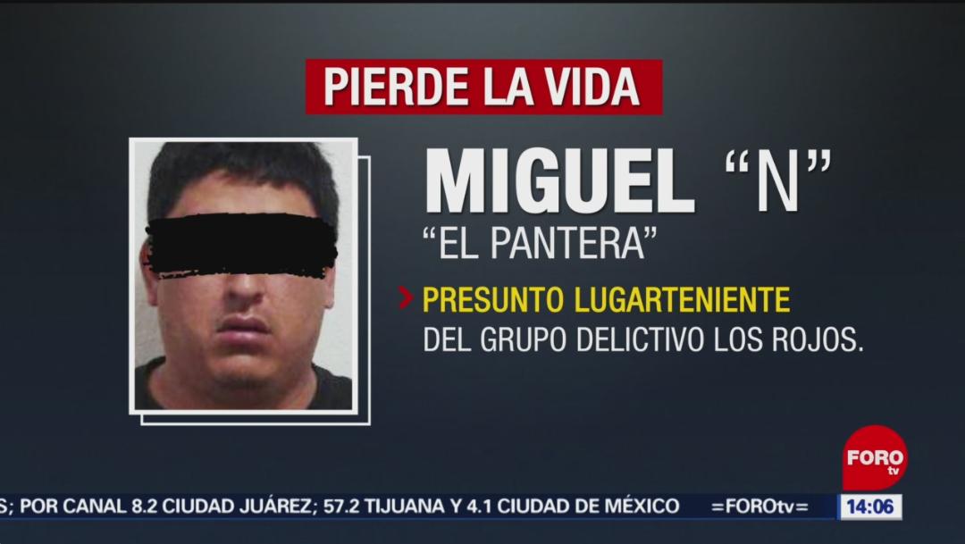 """Foto: Miguel """"N"""" tenía antecedentes penales por delitos contra la salud y violación a la Ley Federal de Armas de Fuego y Explosivos, 7 de septiembre de 2019 (Noticieros Televisa)"""