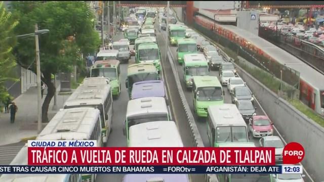 Así fueron las marchas de transportistas en la CDMX, el 3 de septiembre