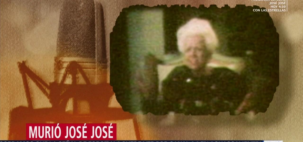 FOTO: Así llegó la canción 'El Triste' a la vida de José José, 28 septiembre 2019