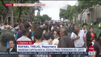 FOTO:Así transcurren las horas previas al Grito de Independencia, 15 Septiembre 2019