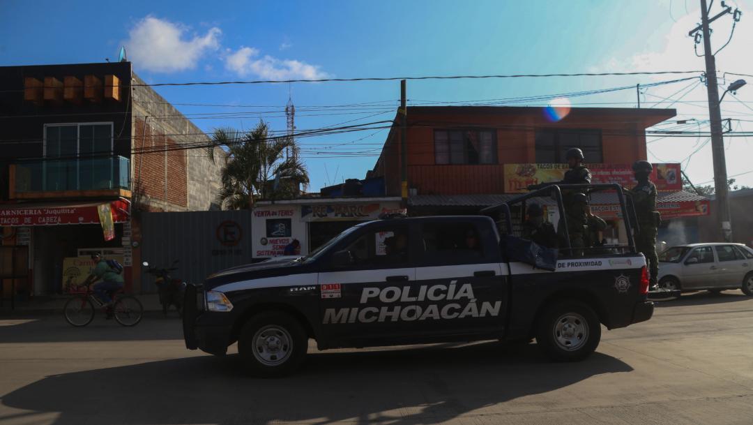 FOTO Aumenta inseguridad en Michoacán con ejecuciones, enfrentamientos y robos (Juan José Estrada/Cuartoscuro)