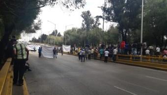 Foto Bloqueo en Circuito Interior Río Churubusco y Eje 5 Sur 4 septiembre 2019