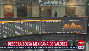 FOTO: Bolsa Mexicana Gana Ante Optimismo Comercial Entre China EEUU,
