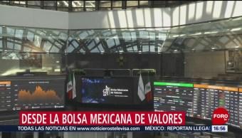 FOTO: Bolsa Mexicana Peso Caen