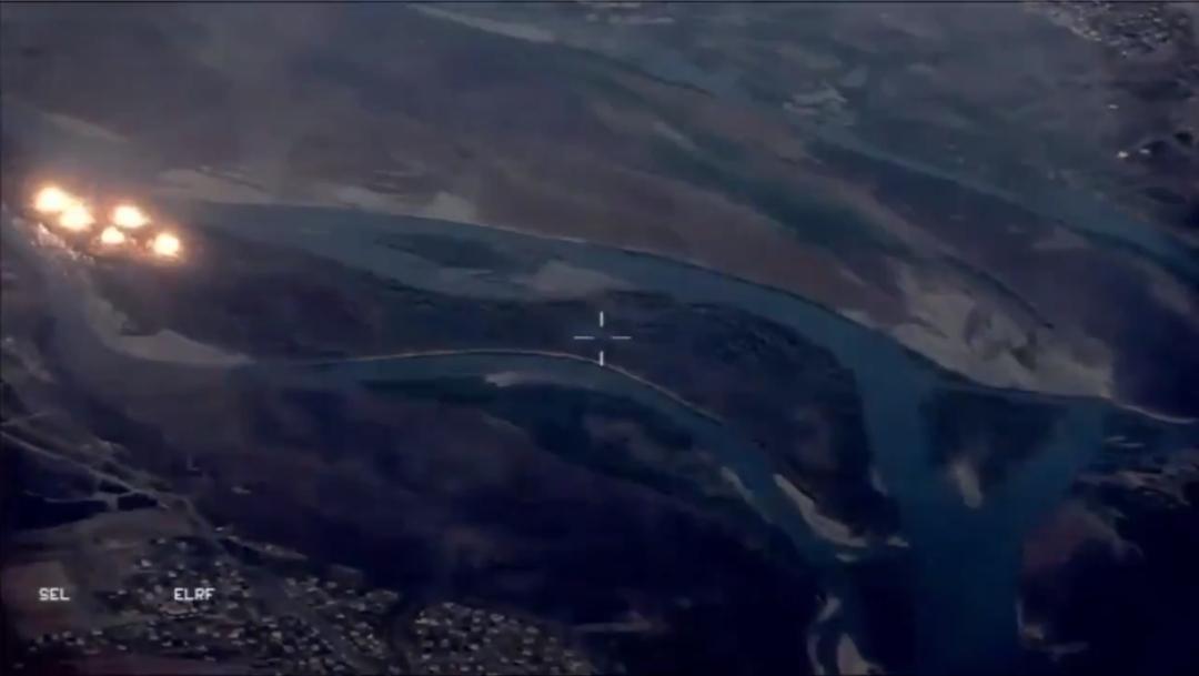 Foto: Aviones de fuerzas iraquíes y la coalición internacional que combate al yihadismo en Siria e Irak lanzaron toneladas de bombas, 12 septiembre 2019