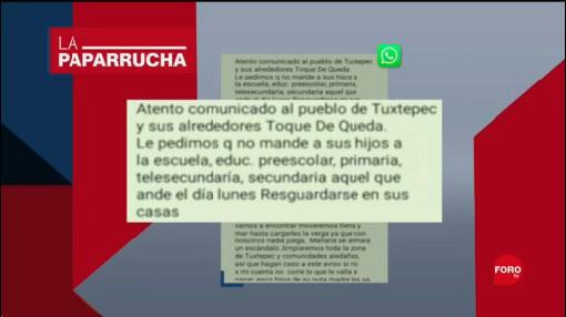 Foto: Cadenas Whatsapp Generan Miedo Oaxaca Noticias Falsas 12 Septiembre 2019