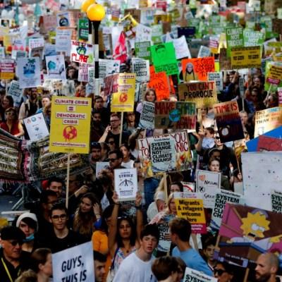 Millones de jóvenes participan en protesta mundial por el clima