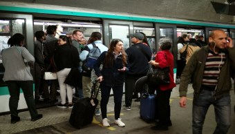 Foto Caos en París por huelga de metro por reforma de pensiones 13 septiembre 2019