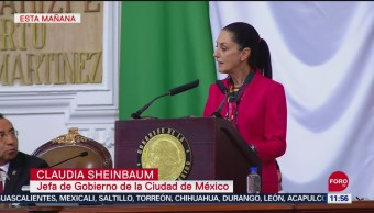 CDMX no se opone a la aleta de violencia de género, dice Claudia Sheinbaum