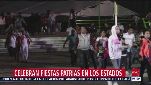 FOTO: Celebran en México fiestas por Grito de Independencia, 16 septiembre 2019