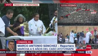 FOTO: Celebran Misa Ángel Independencia Por 5 Años Caso Ayotzinapa
