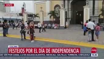 FOTO: Cerca de 15 mil personas festejarán en Colima el Día de Independencia, 15 Septiembre 2019