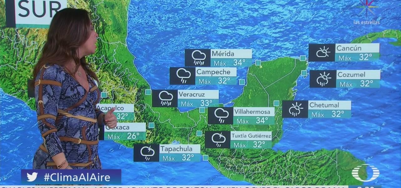 Clima Al Aire: Zona de inestabilidad provoca lluvias en Istmo de Tehuantepec
