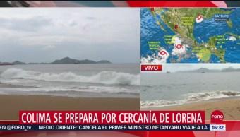 FOTO: Colima Prepara Para Lluvias Lorena