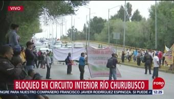 Comerciantes de la Central de Abasto CDMX realizan bloqueo en Circuito Interior