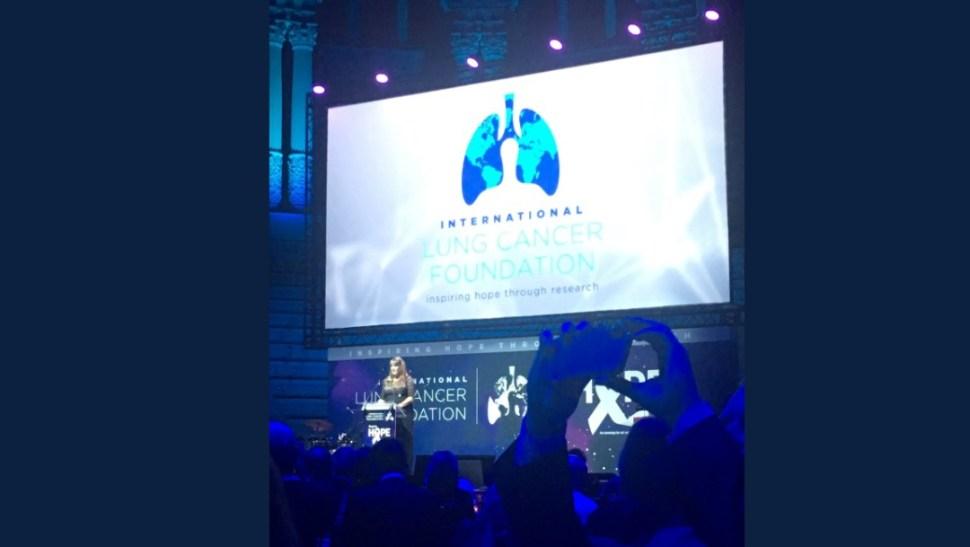 Foto: Congreso sobre cáncer de pulmón, 10 de septiembre de 2019, Barcelona, España