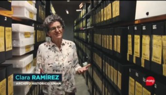 FOTO: Conoce el Archivo Histórico de la UNAM, 14 septiembre 2019