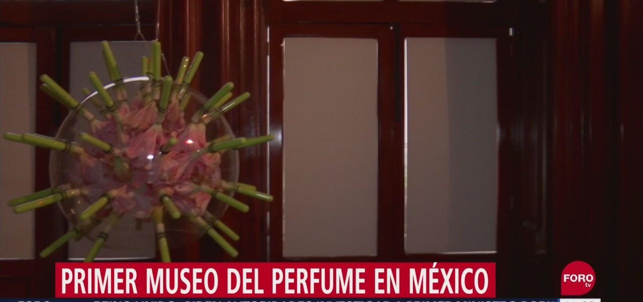 FOTO: Conoce el primer Museo del Perfume en México, 28 septiembre 2019