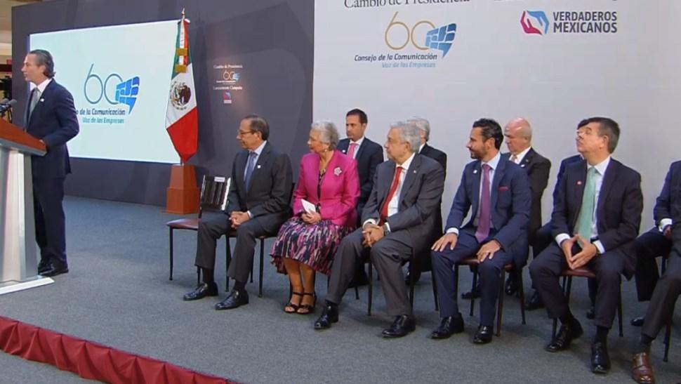 FOTO Consejo de la Comunicación renueva Presidencia, asume José Carlos Azcárraga (YouTube)