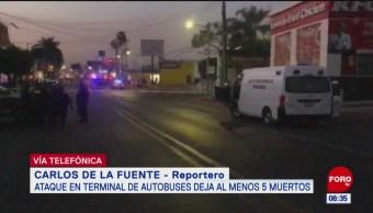 Continúa cerrada terminal de autobuses en Morelos, tras múltiple asesinato