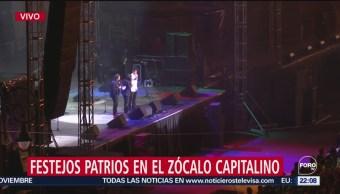 FOTO: Continúa ingreso de personas al Zócalo de la Ciudad de México, 15 Septiembre 2019